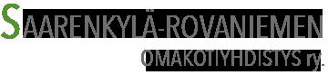 Saarenkylän omakotiyhdistys ry. Logo